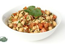 Salade pois chiche libanaise