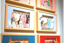 paper doll picture frames