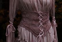 Victorian steampunk blous