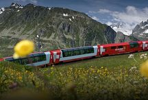 Glacier Express Rail Tour