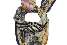 SS12 Scarves / Spring Summer 2012 Collection of limited edition silk scarves. Designed by Susannagh Grogan.