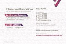 Cosentino Design Challenge #CosentinoDC9 / Cosentino Design Challenge, concursos de Arquitectura y Diseño para estudiantes, promovido por Grupo Cosentino.  Cosentino Design Challenge, competitions in Architecture and Design for students organised by Grupo Cosentino.  Web: http://www.cosentinodesignchallenge.com/