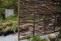 перегородки сад