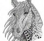 Antistress coloring - Animals