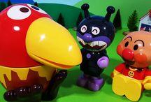 アンパンマンおもちゃアニメ❤バイキンマンとコロちゃん! Anpanman toys