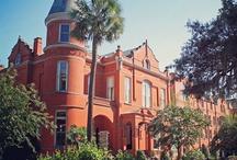 Honeymoon: Savannah, Georgia & Tybee Island. / Honeymoon: The Mansion on Forsythe Park & Cottage on the Green, Tybee Island.