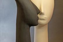 ceramic  statues
