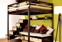 compact living room bedroom