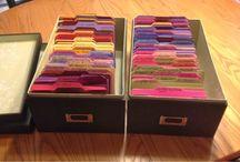 Craft Storage / by Rosi Sheehan SerenityRose Papercraft
