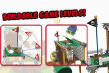 Super Mario Building Sets by K'NEX