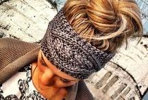 crochet head band ♡