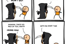 """Cyanide and Happiness"" comics"