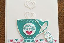 cartes tea time