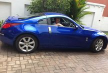 Damon Simpson - Nissan 350z / Damon Simpson with his new car