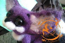 Мои работы - My works / Здесь я буду выкладывать фотографии своих авторских игрушек из шерсти (сухое валяние шерсти, фелтинг). Приятного просмотра) Here is my work with wool (felting). Enjoy)