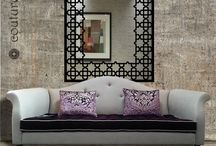 Laser cut wall mirrors for modern interiors