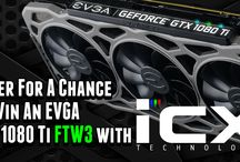 Enter for a chance to WIN a GeForce GTX 1080 Ti FTW3 Video Card!