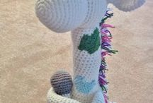 crochet giraffee