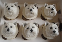 Westies cup cakes / Cake decoration