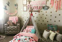 Kinleys big girl bedroom