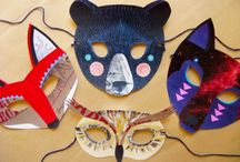 costume and mask ideas / by Sylvia Seaglass