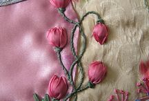 Handwork - Silk Ribbon / by Sharon Leahy