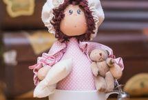 bonecas costura
