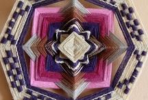 Mandala / Óleo sobre tela