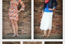 Spring & Summer Fashion Inspiration from The Denim Shop Blog. / What's new on http://TheDenimShopblog.com