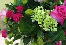 Květiny a věnce