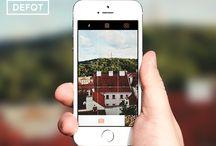 DEFQT Design / DEFQT app design