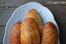 Sourdough Sandwich Buns