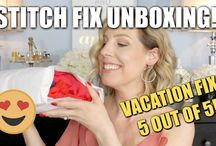 Stitch Fix and Trunk Club Unboxings