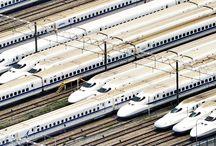 รถไฟในโตเกียว ในประเทศญี่ปุ่น