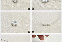 vánoční tvoření - šperky, ozdoby