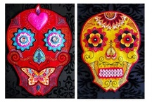 candy or sugar skulls and death it is a mexican thing... / by MaeMae Renfrow