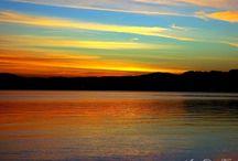 Pôr do sol em Florianópolis / Fotos de diferentes ângulos e de várias praias de Florianópolis. Fotos: André Vignes