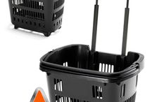 We love Shopping Baskets / Trolley baskets