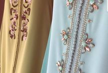 contoh payet gamis