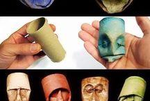 nápady, masky