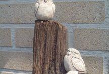Ptaki rzezba