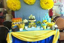 festas de aniversário dos Minion