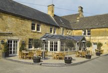 The Noel Arms Hotel / The warm, golden Cotswold stone of Noel Arms has been a part of the Chipping Campden landscape since the 1700s, and rumour has it that Charles II rested here as he fled to the continent after his Scottish army was crushed by Cromwell at the Battle of Worcester in 1651.