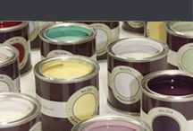 Designer paints / High quality, designer paints available from Sally Bourne Interiors.