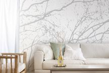 Gorgeous Murals / Oh how we love the possibilities of blank walls!