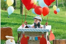Hot Air Balloon Birthday Party Ideas / New, exclusive theme - Up, Up and Away