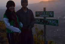 dr puncak gunung andong, ehipassiko 2013 / psikologi 2013