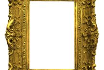frame gold