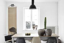 Spisebord/stoler