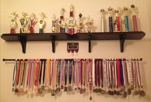 Hanging medals / Ideas to hang up medals in my room